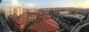 Our view of Eskeshehir, Turkey